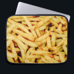 """French Fries Laptop Sleeve<br><div class=""""desc"""">French Fries pattern.</div>"""