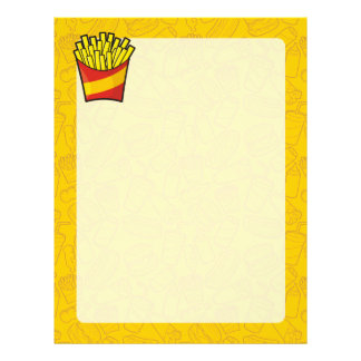 French Fries Letterhead