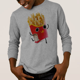 French Fries Long Sleeved Shirt for Boys