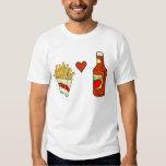 French Fries Love Ketchup Shirt
