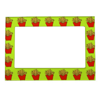 french fries magnetic frame