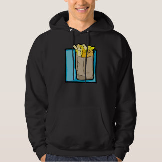 French Fries Mens Hoodie