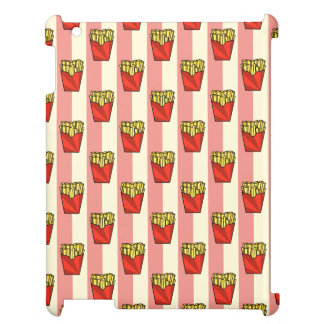 French Fries Pattern iPad Case