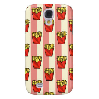 French Fries Pattern Samsung Galaxy S4 Case