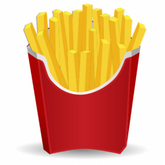 French Fries Photo Cutout