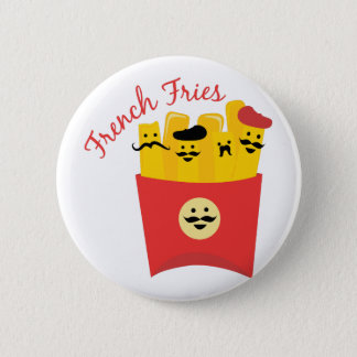 French Fries Pinback Button