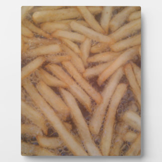 French Fries Plaque