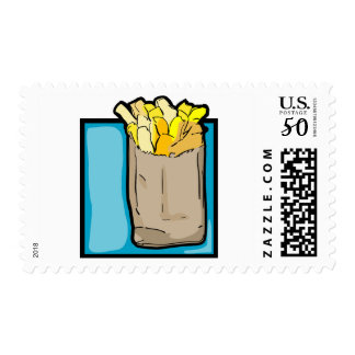 French Fries Postage