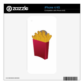 French Fries Skins For The iPhone 4S