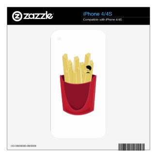 French Fries Decals For The iPhone 4S