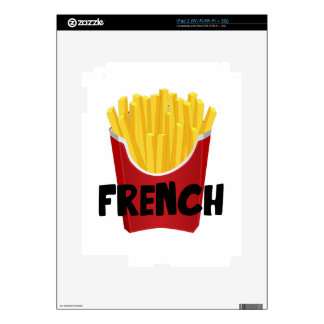 French Fries iPad 2 Decals