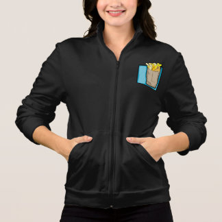 French Fries Womens Jacket