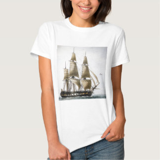 French Frigate T Shirt