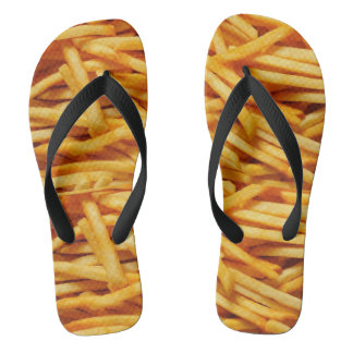 French Friues Flip Flops