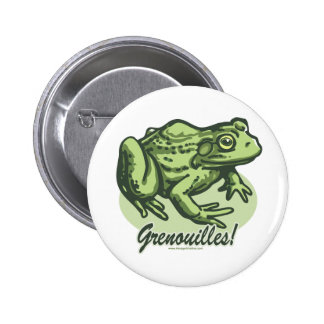 French Frog Button