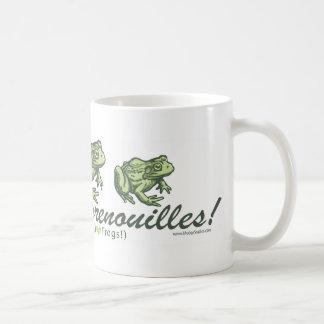 French Frog - I Love Frogs Mug