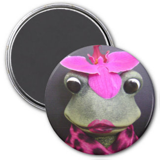 French frog magnet