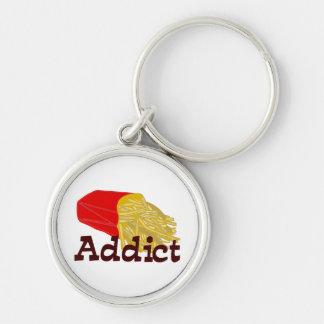 French Fry Addict Keychain