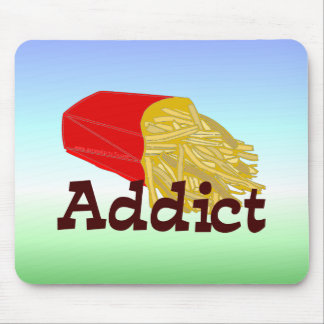 French Fry Addict Mouse Pad