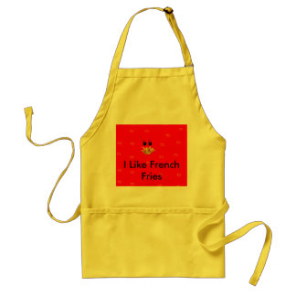 French Fry Chef Adult Apron