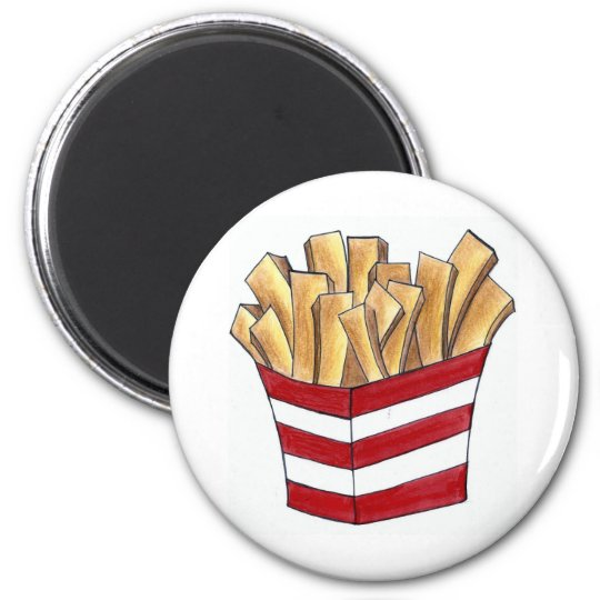 French Fry Fries Fast Food Foodie Magnet