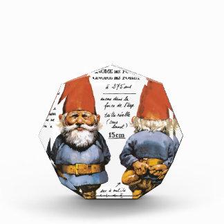 FRENCH GARDEN GNOMES 30SEP 2014.jpg Acrylic Award