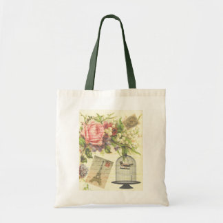 French Garden Shopping Tote