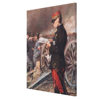 French General Joseph Gallieni by Ferdinand Roybet Stretched Canvas Prints