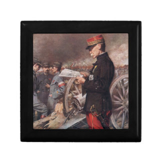 French General Joseph Gallieni by Ferdinand Roybet Jewelry Boxes