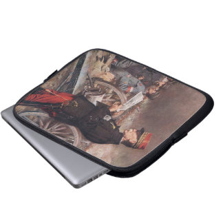 French General Joseph Gallieni by Ferdinand Roybet Laptop Sleeves