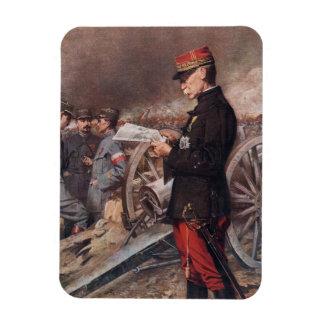 French General Joseph Gallieni by Ferdinand Roybet Magnet