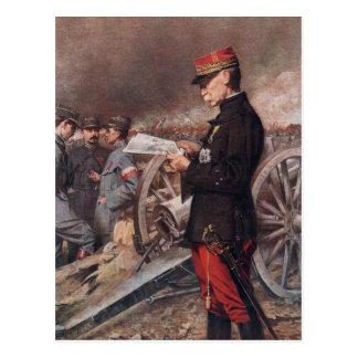 French General Joseph Gallieni by Ferdinand Roybet Postcard