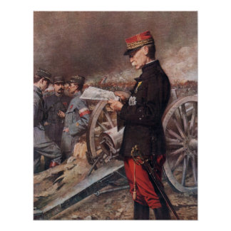 French General Joseph Gallieni by Ferdinand Roybet Poster