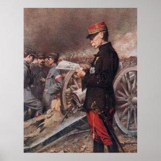 French General Joseph Gallieni by Ferdinand Roybet Print