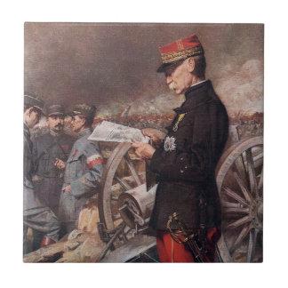French General Joseph Gallieni by Ferdinand Roybet Tiles