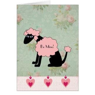 French Gigi Valentine Card