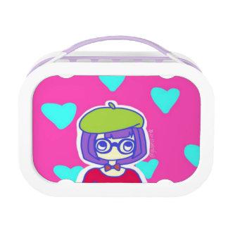 French Girl Yubo Lunch Box