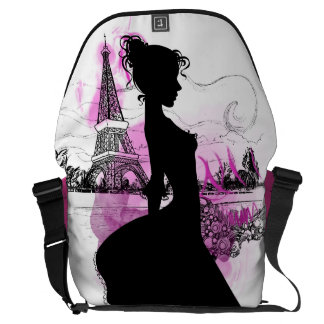 French girl courier bags
