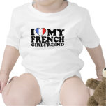 French Girlfriend Baby Bodysuits