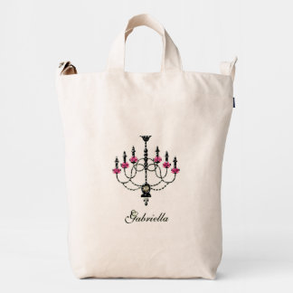 French Girlie Chandelier Duck Bag