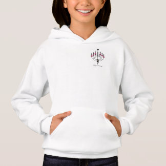 French Girlie Chandelier Hoodie