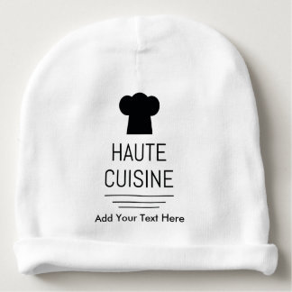 French Gourmet Haute Cuisine Baby Beanie