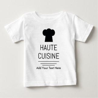 French Gourmet Haute Cuisine Baby T-Shirt