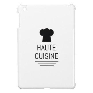 French Gourmet Haute Cuisine Foodie Cover For The iPad Mini
