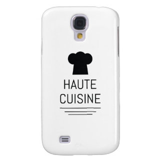 French Gourmet Haute Cuisine Foodie Galaxy S4 Cover