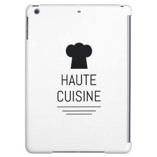 French Gourmet Haute Cuisine Foodie iPad Air Case
