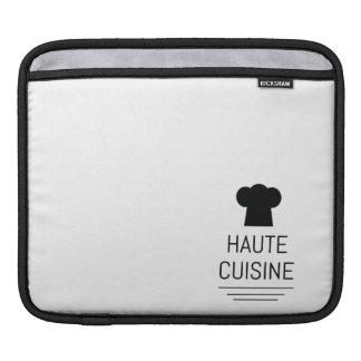 French Gourmet Haute Cuisine Foodie iPad Sleeve