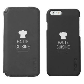 French Gourmet Haute Cuisine Foodie iPhone 6/6s Wallet Case