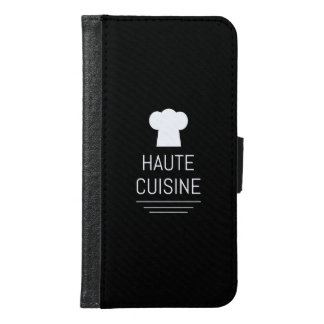 French Gourmet Haute Cuisine Foodie Samsung Galaxy S6 Wallet Case