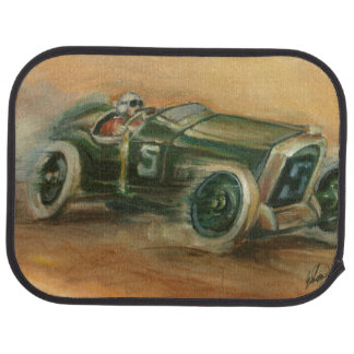 French Grand Prix Racecar by Ethan Harper Car Mat